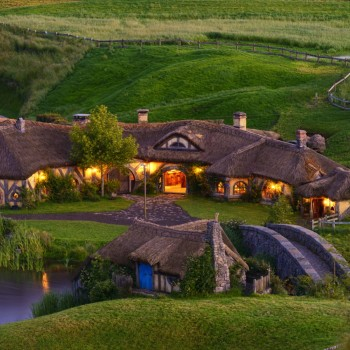 Hobbiton. Green Dragon Inn