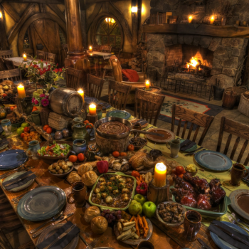 A feast fit for Hobbits where seconds are encouraged