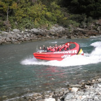 Queenstown. Shotover Jet