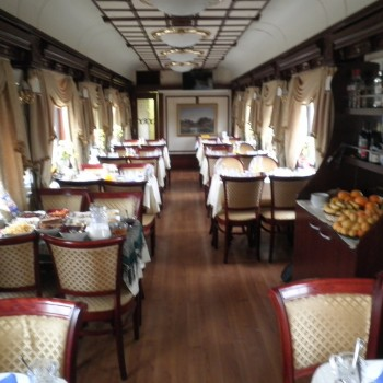 Tsars Gold Dining Car