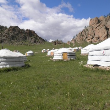 Mongolia Yurt Camp
