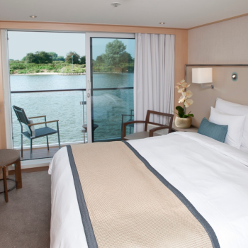 Viking River cruiser - Verandah suite